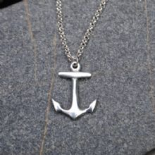 Anchor pendant necklace P76